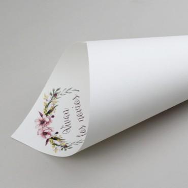 cono de papel para arroz. cono para palomitas. cono para mesas dulces. cono para bodas modelo verona