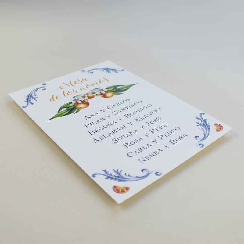 Cartel seating plan para bodas. Encuentra tu sitio bodas. cartel de boda original Valencia
