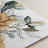 detalle Envoltura de invitación con papel vegetal. Veladura de papel vegetal para invitación de boda Alejandria VI