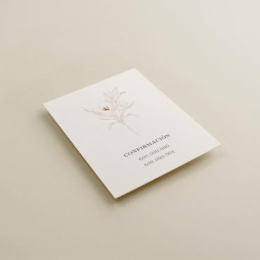 tarjeta informativa para invitación Praga. tarjeta con el numero de cuenta. lista de boda