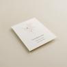 cara A. tarjeta informativa para invitación Praga. tarjeta con el numero de cuenta. lista de boda