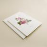 invitacion de boda con flores de acuarela de rosas. invitacion con sobre blanco. modelo Estambul I