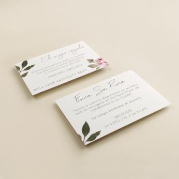 tarjeta informativa Estambull. tarjeta numero de cuenta para invitación. tarjeta para lista de boda