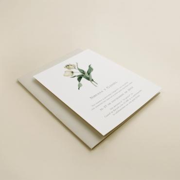 Sobres de colores para invitaciones de boda